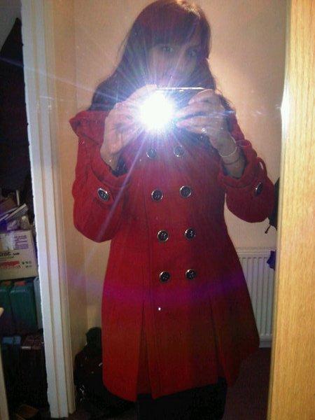 Matalan Red Coat