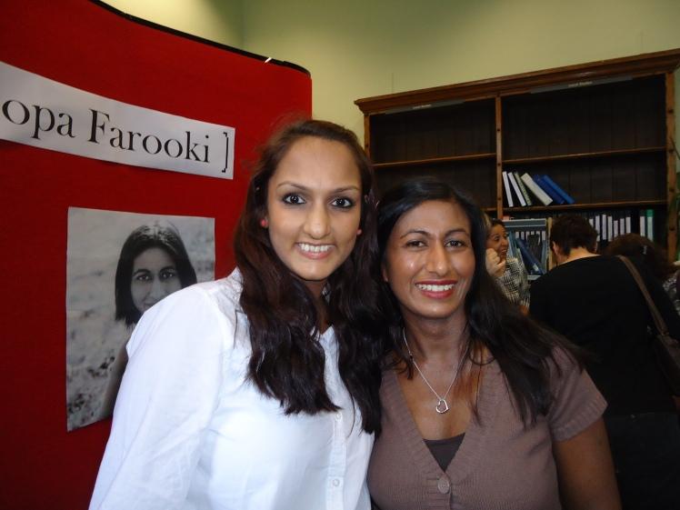Priya Mulji with Roopa Farooki
