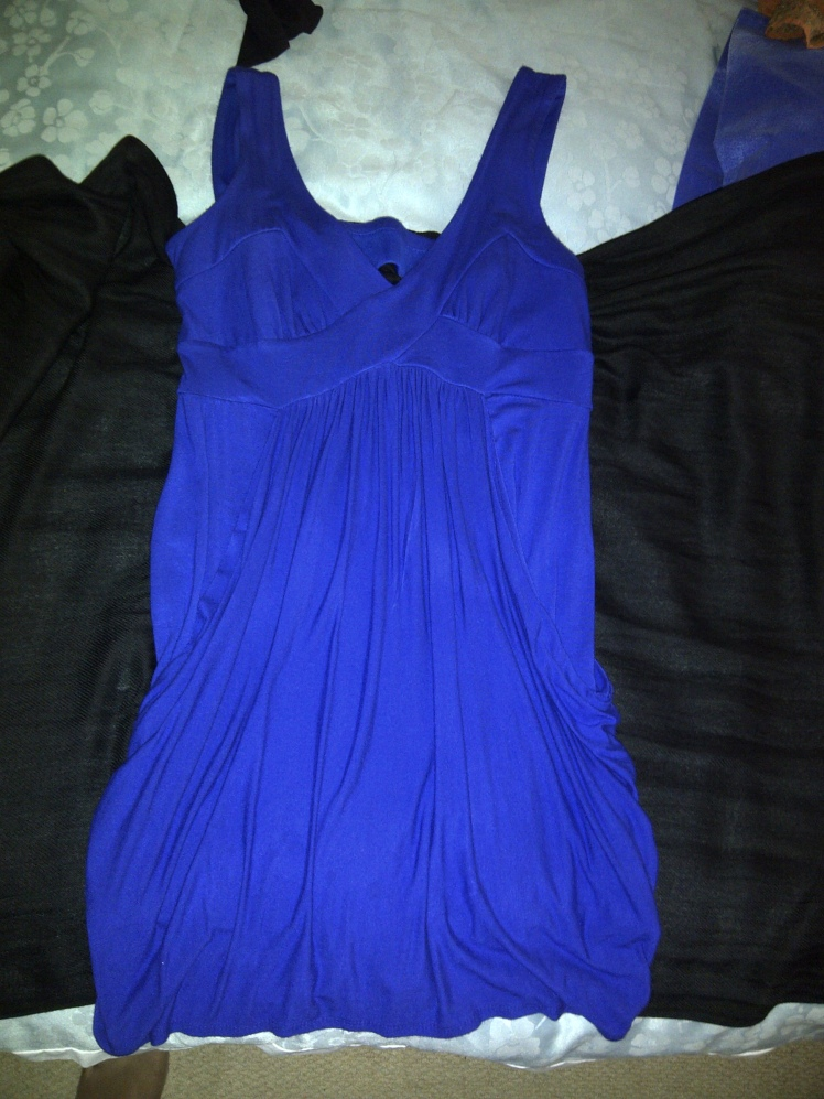 Blue Dress Front item 5