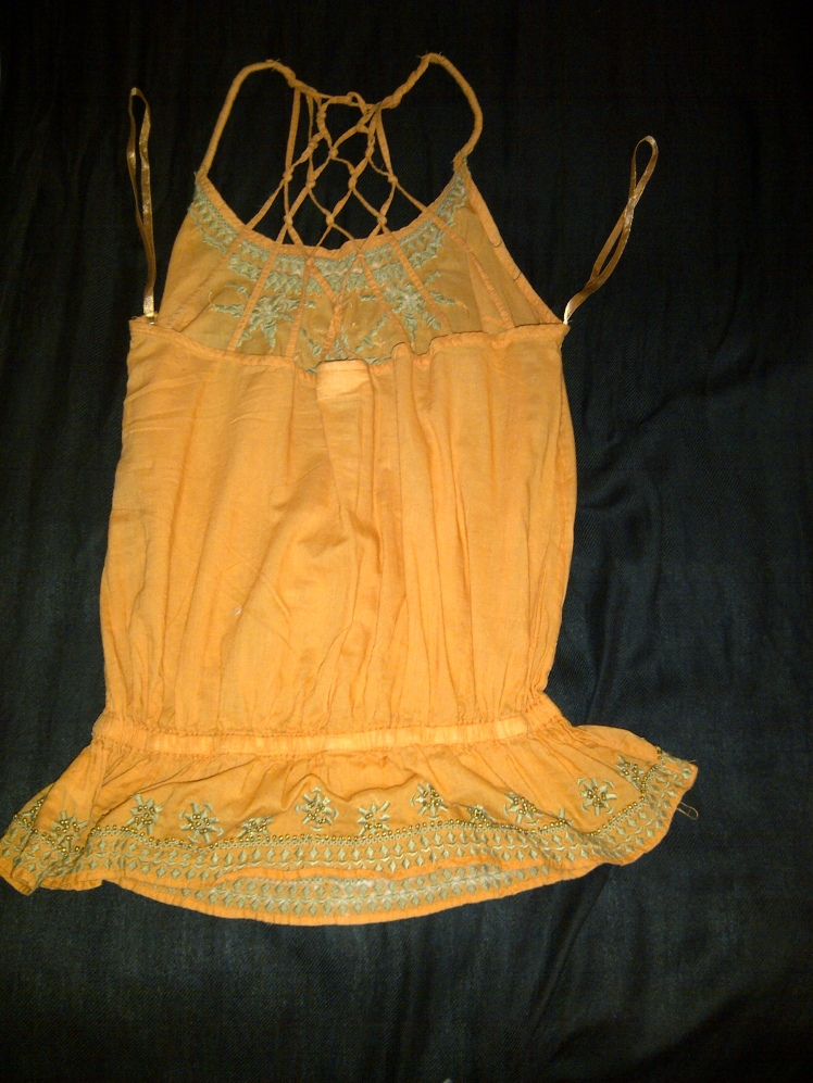 Orange Top Back Item 6