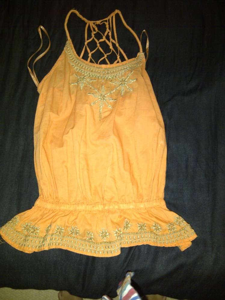 Orange Top Front item 6