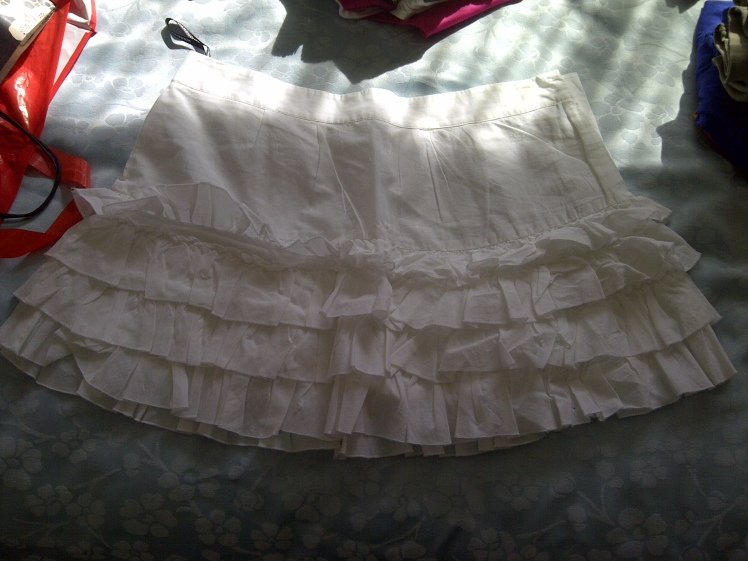 White Skirt item 2
