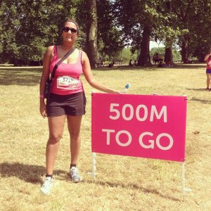 Priya Mulji Hyde Park Race For Life