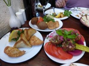 Lamb & Spinach/Feta Pastries- Randa Restaurant