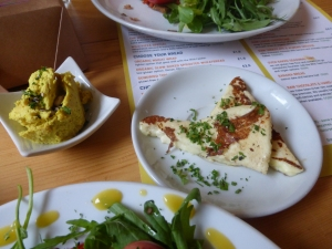 Coconut Cheeze & Halloumi - Wild Food Cafe