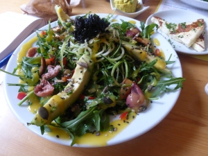 Ayurvedic Salad - Wild Food Cafe