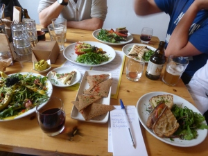 All the foodie delights at Wild Food Cafe