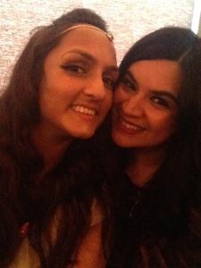 Me and Rita Morar