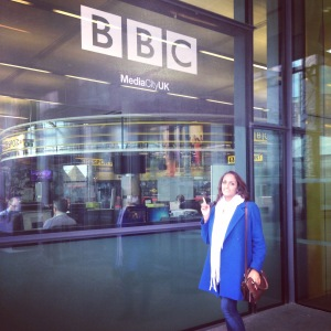 At the BBC at MediaCity Manchester