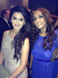 With young journalist of the year nominee Harpreet Kaur