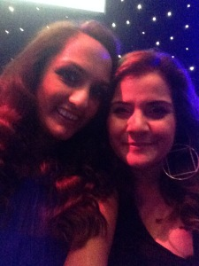 With the lovely Nina Wadia