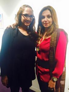 Priya Mulji with Lilette Dubey