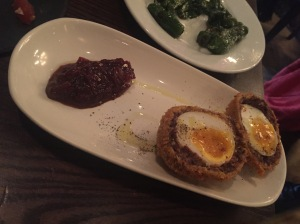 Opera Tavern - Morcila Scotch Egg