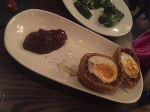 Opera Tavern - Morcila Scotch Egg