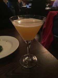 Opera Tavern - Passionfruit & Peach Martini