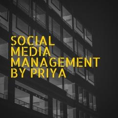 Social media management by priya