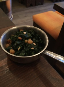 Spinach - Zayane Restaurant London
