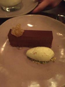 Chocolate delice - Zayane Restaurant London