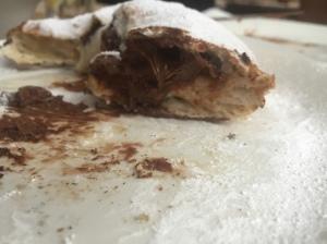 Nutella pizza doughnut