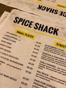 spice shack harrow