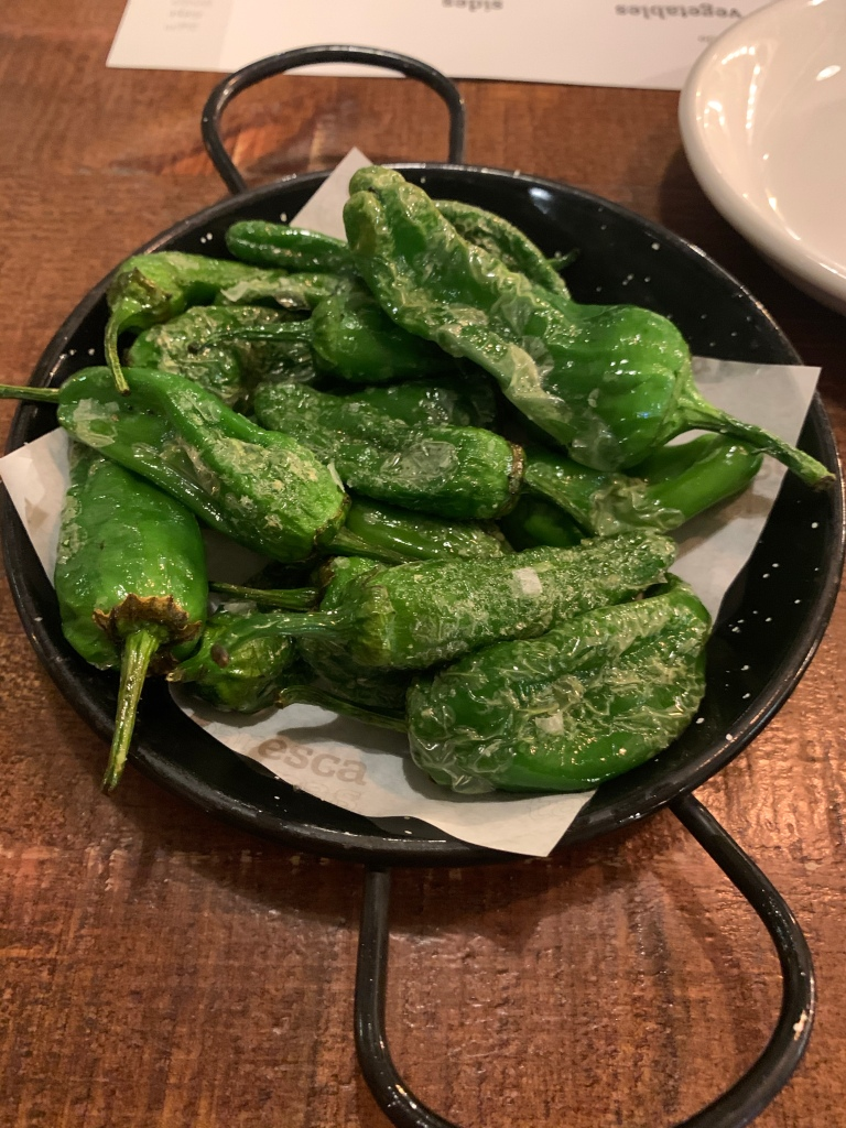Padron Peppers - Bar Esca Nottingham
